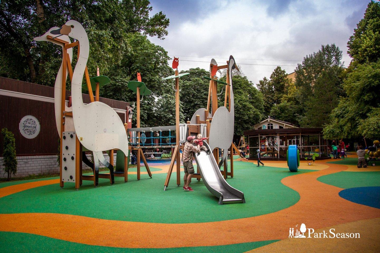 Детская площадка, Сад «Эрмитаж», Москва — ParkSeason