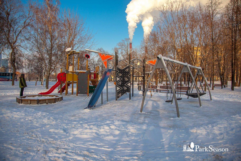 Детская площадка, Парк «Новодевичьи пруды», Москва — ParkSeason