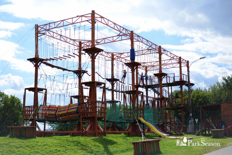 Веревочный парк «ПандаПарк» (закрыт до мая 2019) — ParkSeason