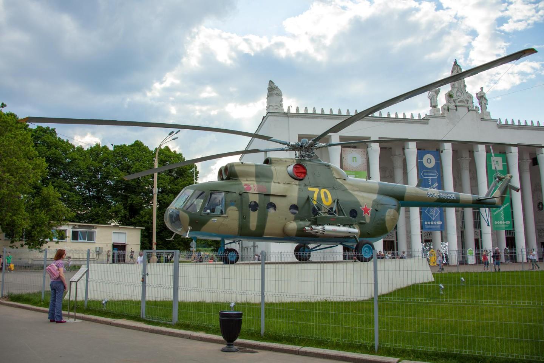 Вертолет Ми-8Т, ВДНХ, Москва — ParkSeason