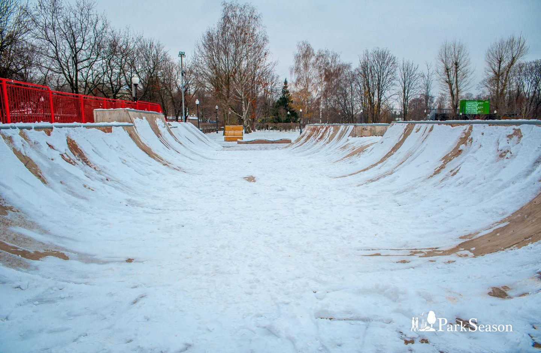 Скейт-парк Vans Off The Wall, Парк Горького, Москва — ParkSeason