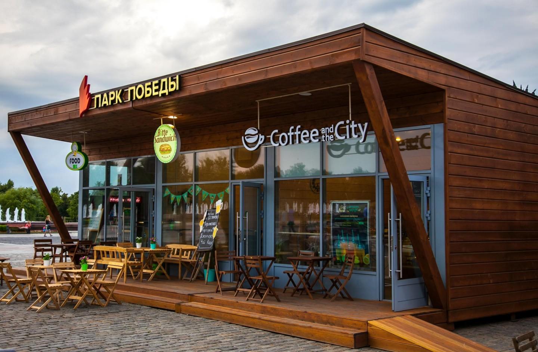 Кофейня Сoffee and the City, Парк Победы на Поклонной горе, Москва — ParkSeason