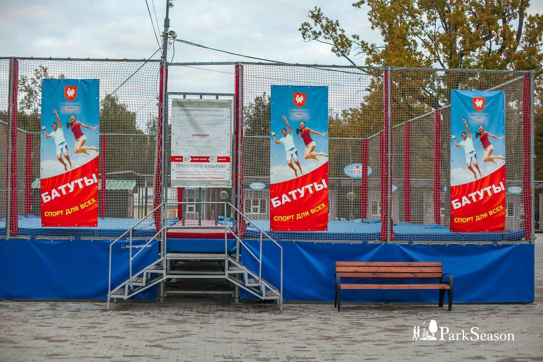 Батут, Парк «Измайловский», Москва — ParkSeason