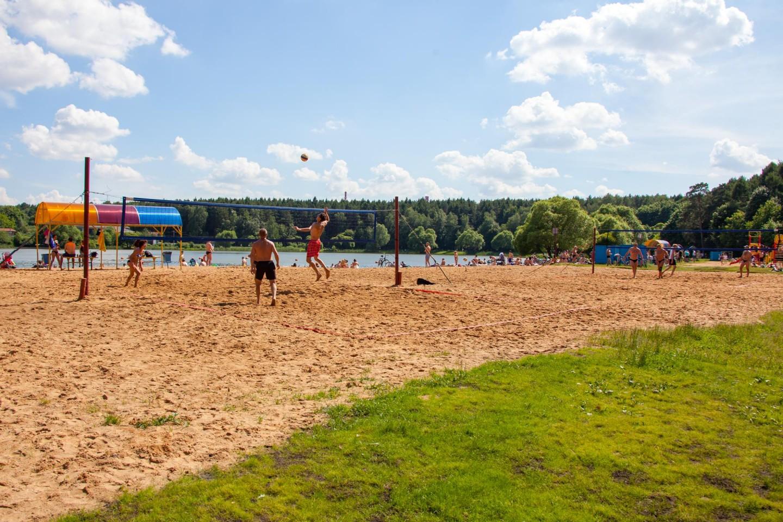 Пляж (временно закрыт), Парк «Мещерский», Москва — ParkSeason