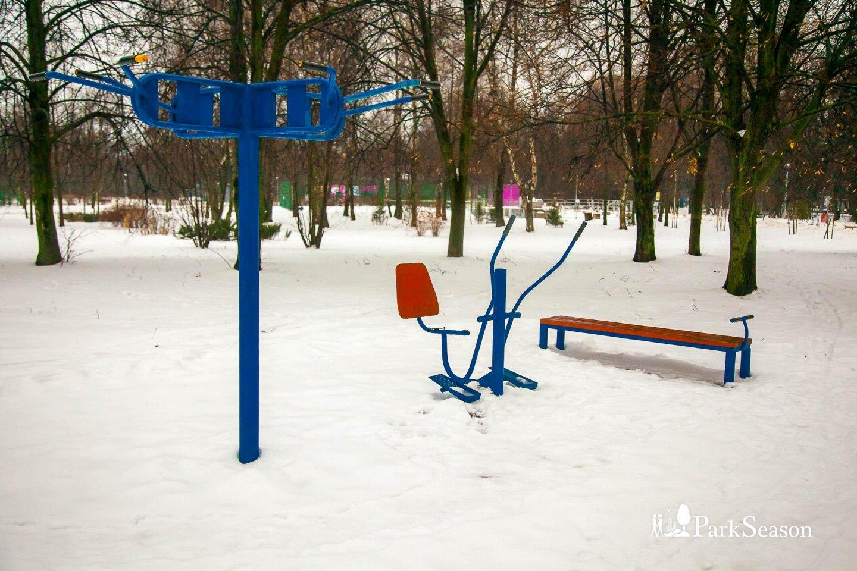 Уличные тренажеры, Парк «Северное Тушино», Москва — ParkSeason