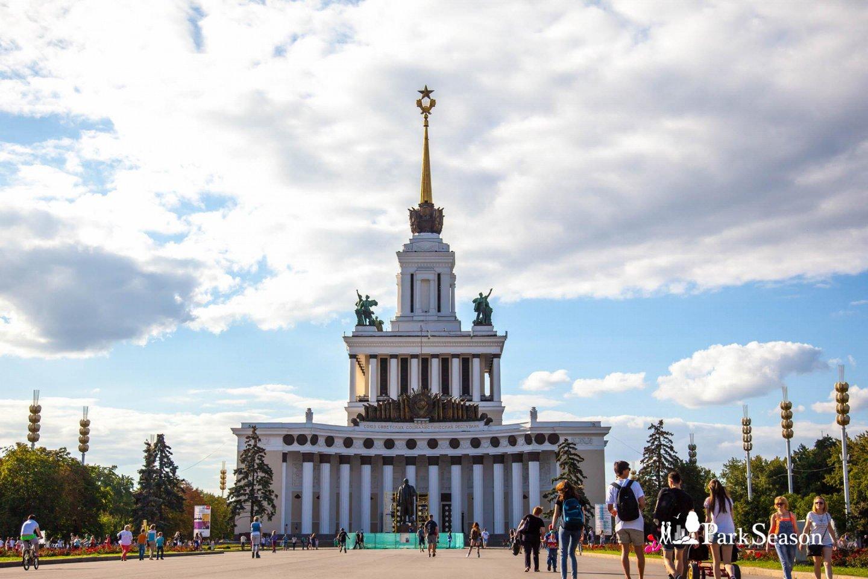 Павильон № 1: «Центральный» (на реконструкции), ВДНХ, Москва — ParkSeason