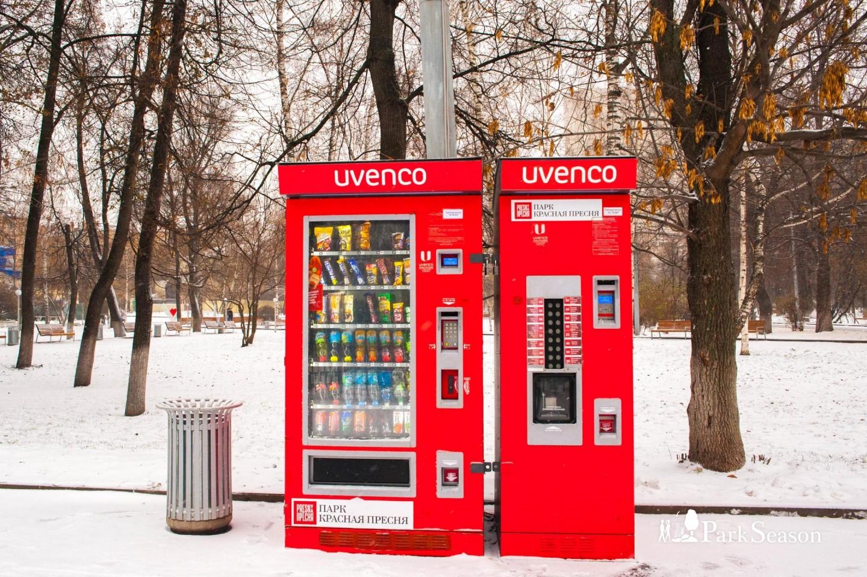 Автомат «Еда и Напитки», Парк «Красная Пресня», Москва — ParkSeason