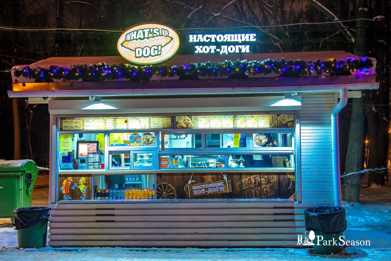Киоск What's up, dog!, Озелененная территория МГУ, Москва — ParkSeason