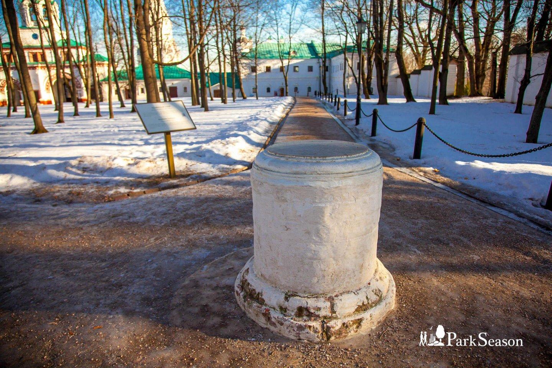 Челобитный столб, Усадьба «Коломенское», Москва — ParkSeason