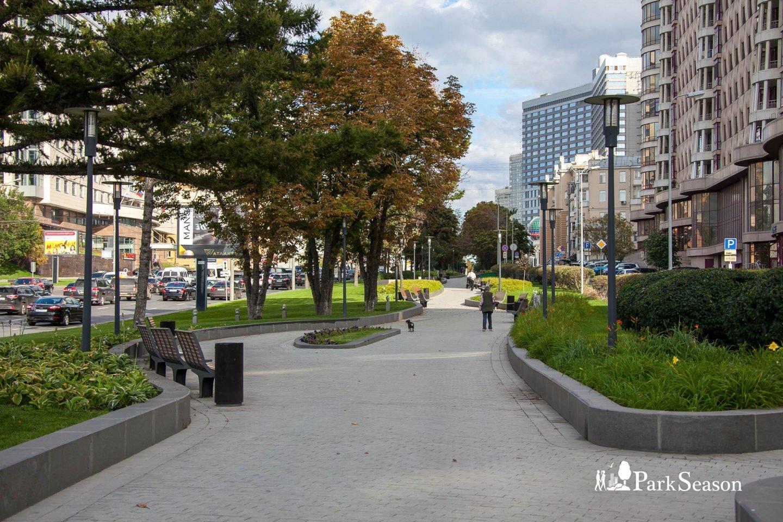 Сквер на Новом Арбате — ParkSeason