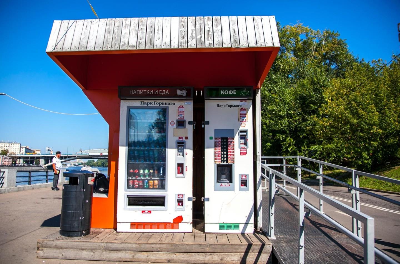 Автомат «Кофе», Воробьевы горы, Москва — ParkSeason