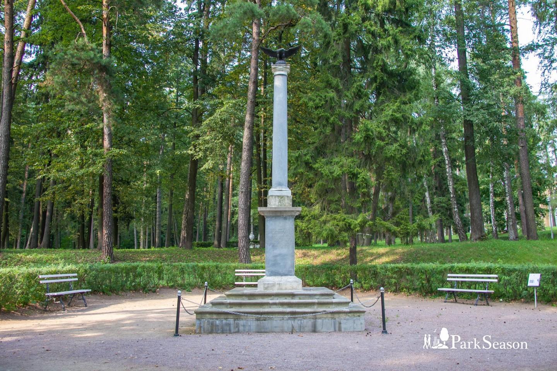 Памятная колонна в честь Николая I, Музей-усадьба «Архангельское», Москва — ParkSeason