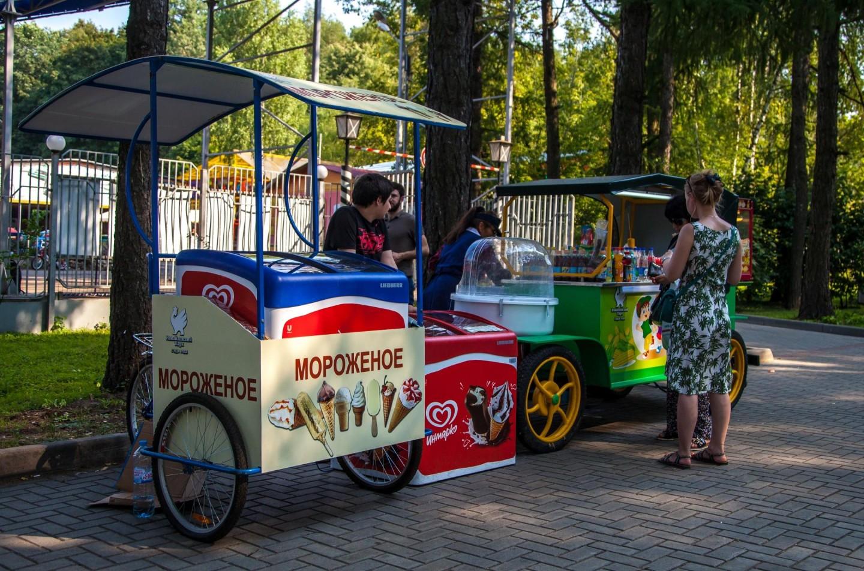 Мороженое, Парк «Измайловский», Москва — ParkSeason