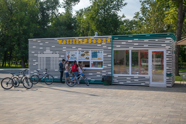 Кафе «Вафли» (закрыт) — ParkSeason