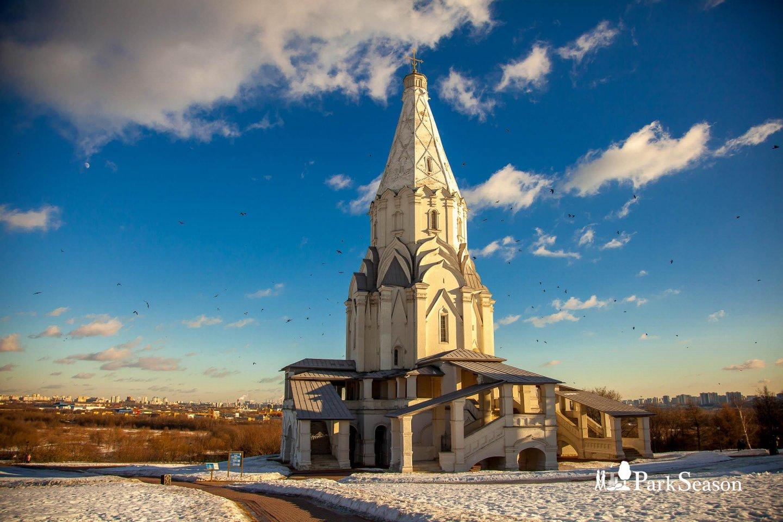 Церковь Вознесения Господня, Усадьба «Коломенское», Москва — ParkSeason