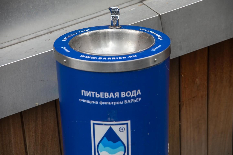 Питьевой фонтанчик, «Музеон», Москва — ParkSeason