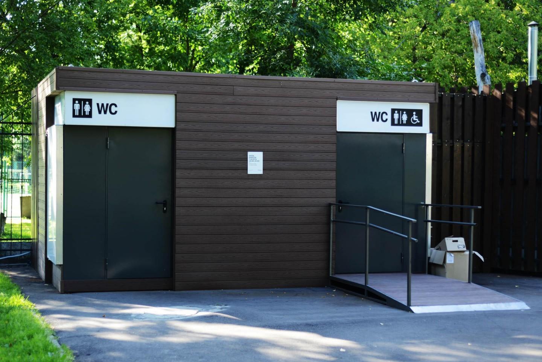 Туалет, Парк «Перовский», Москва — ParkSeason