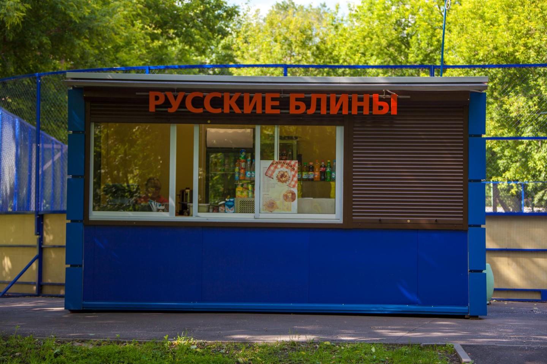 Ларек «Русские блины», Усадьба «Люблино», Москва — ParkSeason