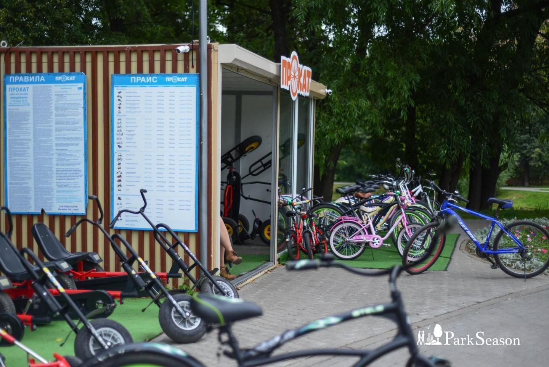 Пункт проката велосипедов, Усадьба «Воронцово», Москва — ParkSeason