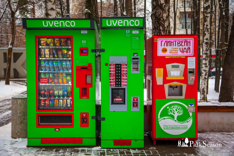 Автомат «Еда и напитки», Парк «Бабушкинский», Москва — ParkSeason