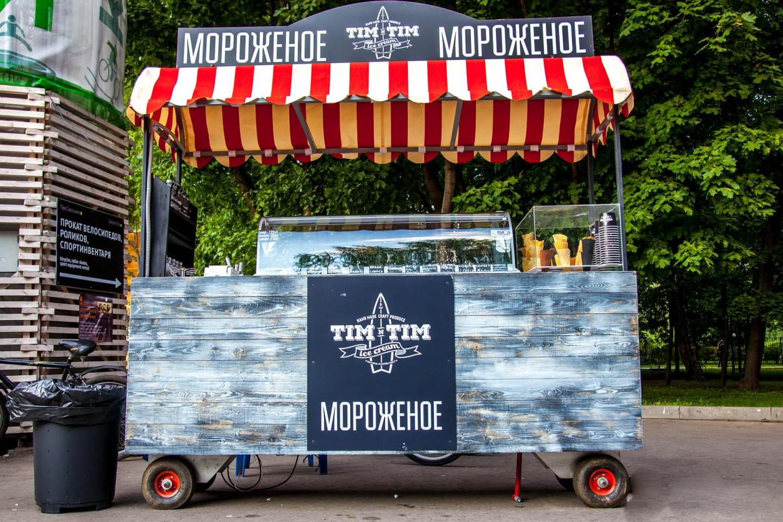 Мороженое Tim`n`Tim, Парк «Сокольники», Москва — ParkSeason