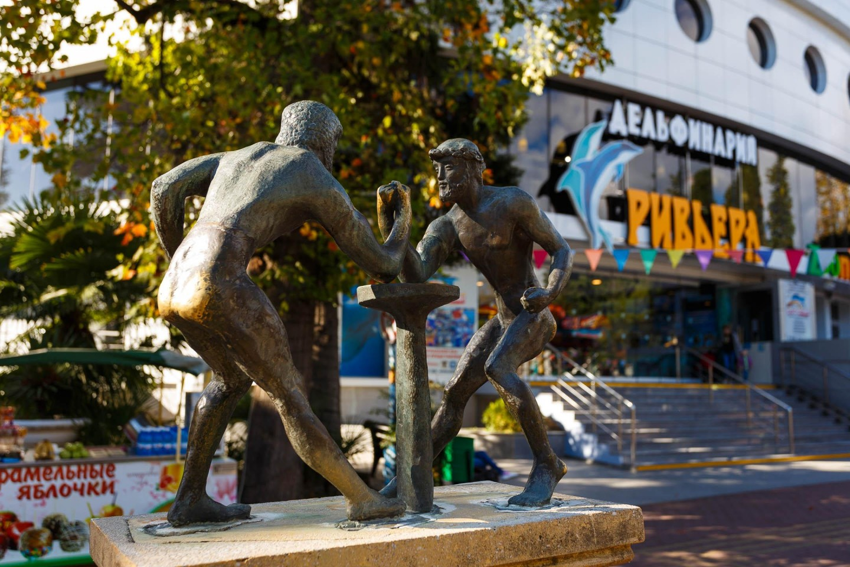 Скульптура «Олимпиада» — ParkSeason