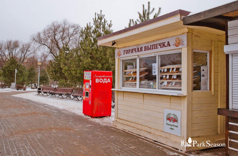 Киоск с уличной едой, Усадьба «Воронцово», Москва — ParkSeason