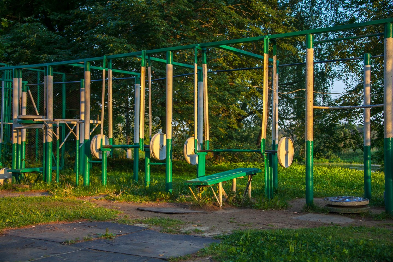 Уличные тренажеры, Музей-усадьба «Архангельское», Москва — ParkSeason