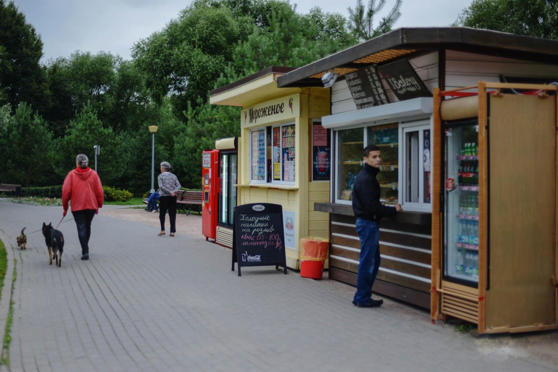 Киоск Bakery, Усадьба «Воронцово», Москва — ParkSeason