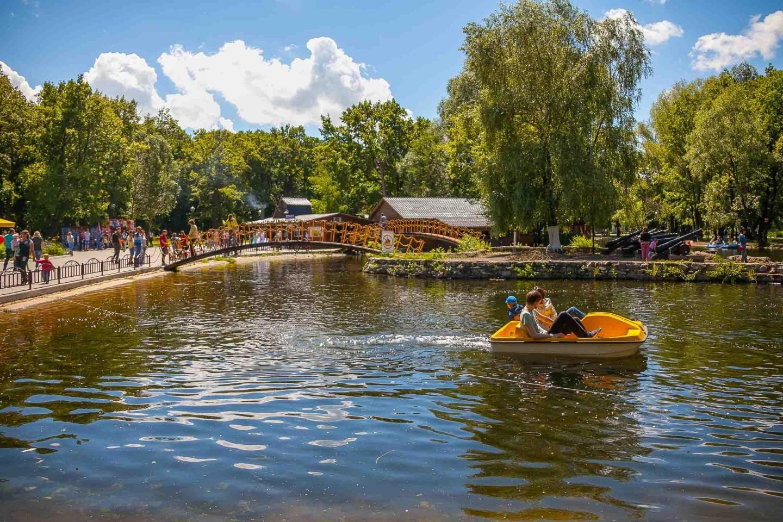 Касса водных велосипедов — ParkSeason