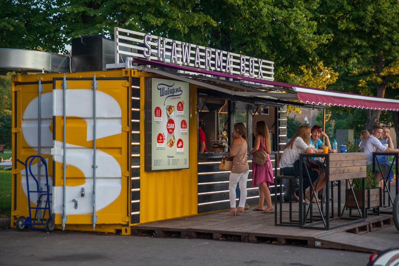 Киоск Shawerma box (закрыт) — ParkSeason