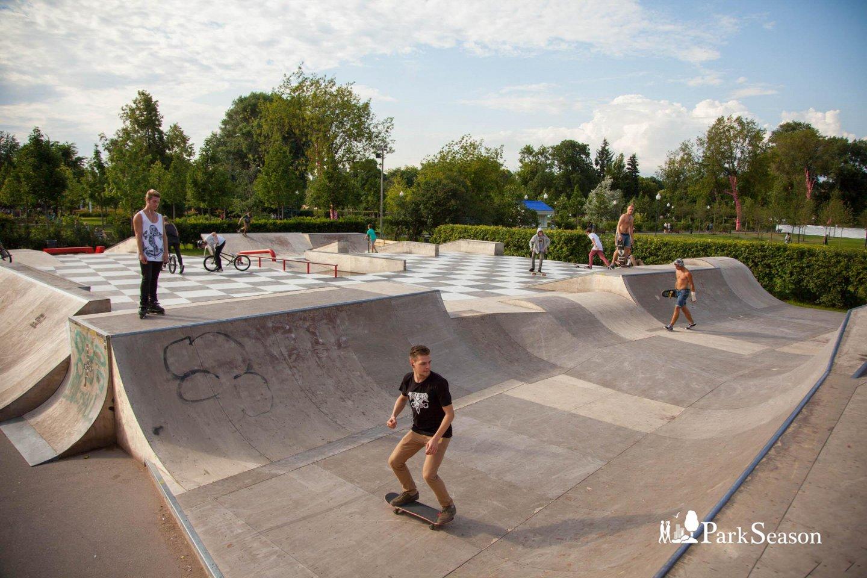 Скейт-парк Vans Off The Wall (закрыт до мая 2019 года) — ParkSeason