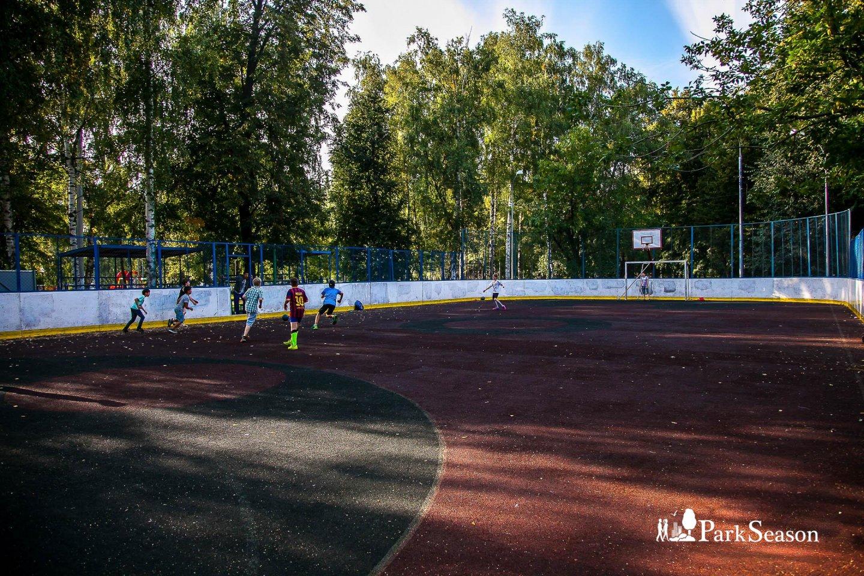 Спортивная площадка, Парк «Березовая роща», Москва — ParkSeason