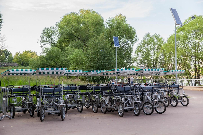 Пункт проката веломобилей, Парк «Северное Тушино», Москва — ParkSeason