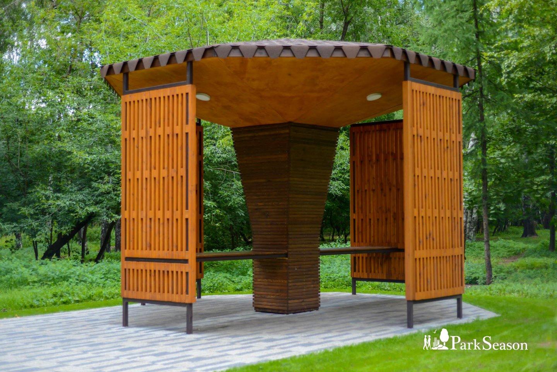 Беседки шахматистов, Парк «Кузьминки», Москва — ParkSeason