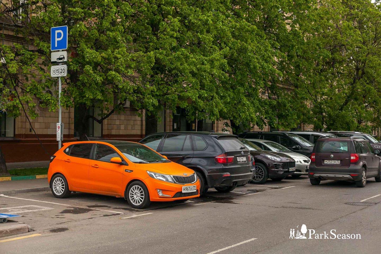 Парковка , Парк Победы на Поклонной горе, Москва — ParkSeason