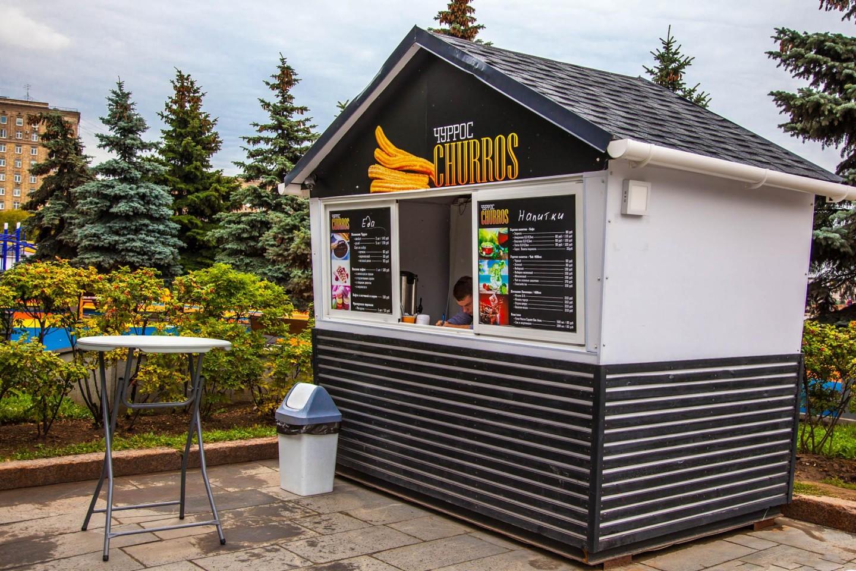 Киоск Churros, Парк Победы на Поклонной горе, Москва — ParkSeason