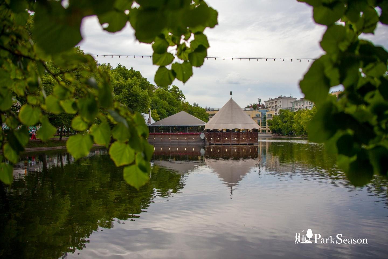 Кафе «Шатер», Чистые пруды, Москва — ParkSeason