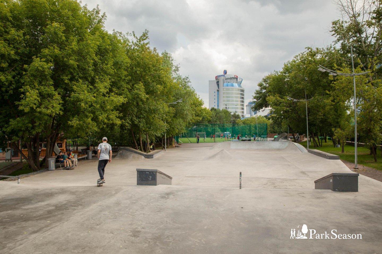 Скейт-парк, Парк «Красная Пресня», Москва — ParkSeason