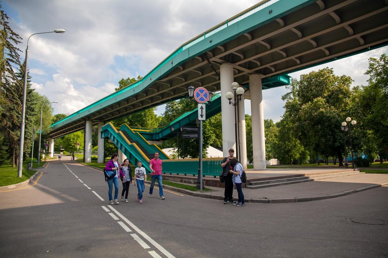 Андреевский мост, Нескучный сад, Москва — ParkSeason