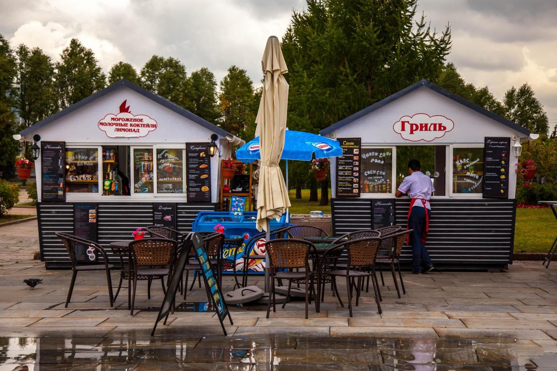 Киоск «Гриль», Парк Победы на Поклонной горе, Москва — ParkSeason