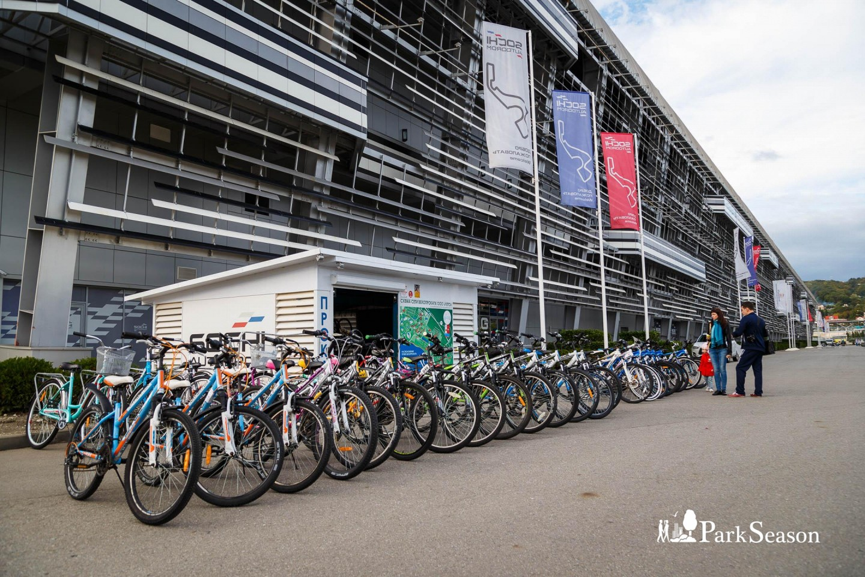 Прокат велосипедов «Сочи Автодром» — ParkSeason