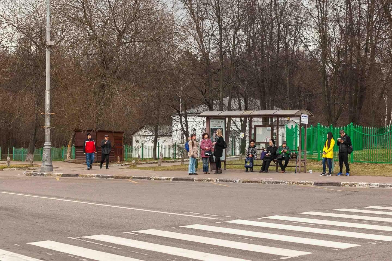 Остановка «Кузьминский парк», Парк «Кузьминки», Москва — ParkSeason