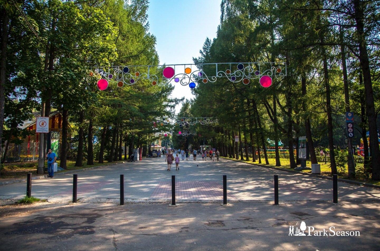 Вход в парк, Парк «Измайловский», Москва — ParkSeason
