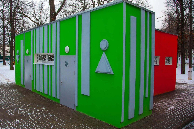 Туалеты, Парк имени Льва Толстого (Химки), Москва — ParkSeason