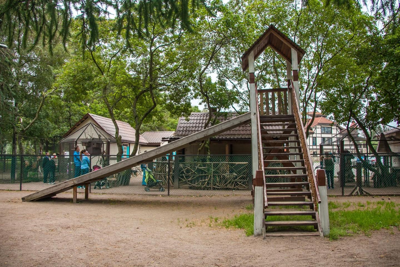 Детская деревянная горка — ParkSeason