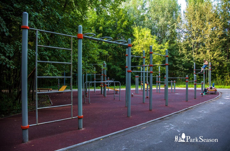 Площадка WorkOut, Парк «Измайловский», Москва — ParkSeason