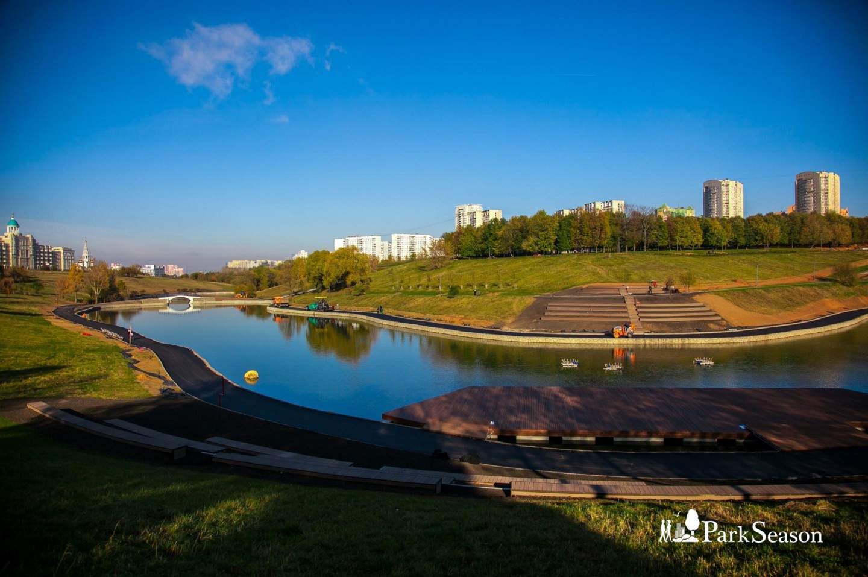 Пруд , Парк Олимпийской деревни, Москва — ParkSeason