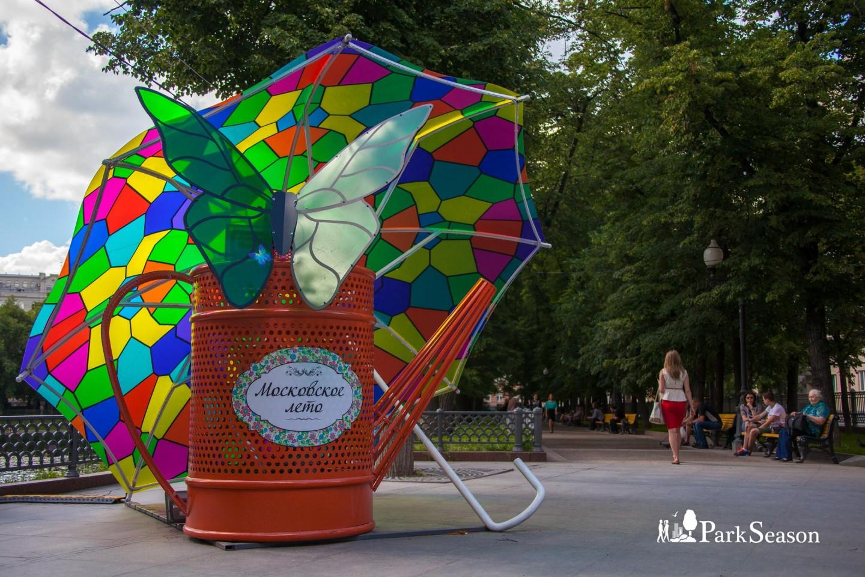 Арт-объект «Московское лето», Патриаршие пруды, Москва — ParkSeason