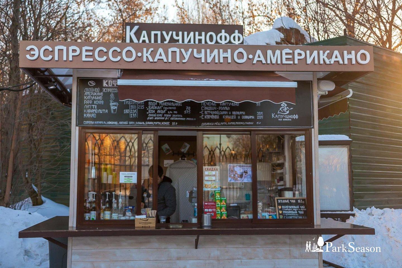 Киоск «Капучинофф» , Музей-заповедник «Царицыно», Москва — ParkSeason